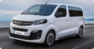 Opel Vivaro 8+1 [Detailed price list]