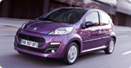 Peugeot 107 [Detailed price list]